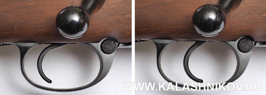Шнеллер (ускоритель спуска) карабина Zastаva M70 FS (.308 Win.). Фото из журнала «Калашников»