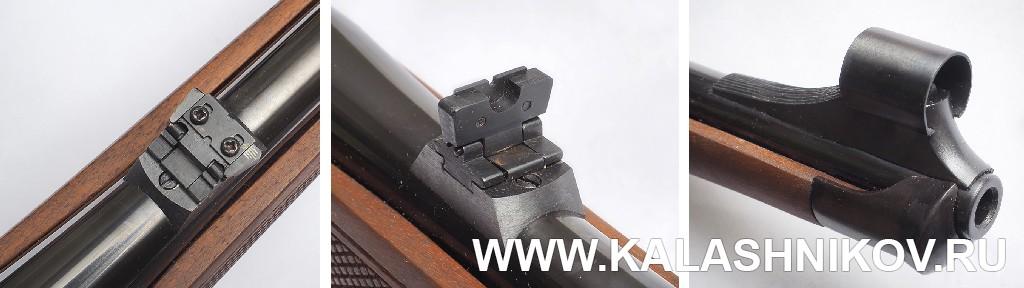 Прицельные приспособления карабина Zastаva M70 FS (.308 Win.). Фото из журнала «Калашников»