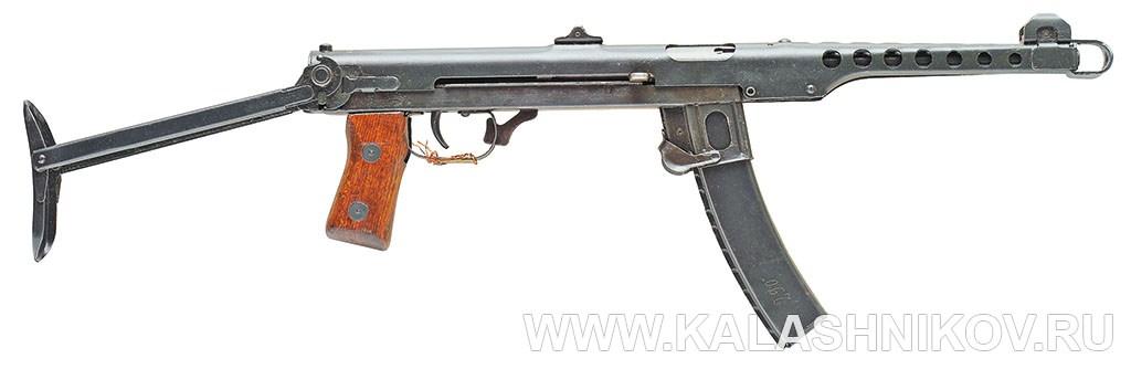 7,62-мм пистолет-пулемёт обр. 1943 г. (ППС-43). Фото журнала «Калашников»