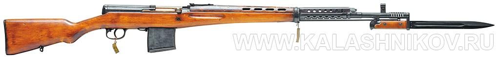 7,62-мм самозарядная винтовка Токарева (СВТ-40) Фото журнала «Калашников»