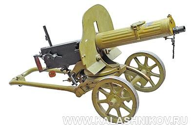 7,62-мм пулемёт Максим обр. 1910/30 г.г. Фото журнала «Калашников»