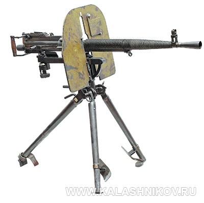 7,62-мм станковый пулемёт Дегтярёва (ДС-39). Фото журнала «Калашников»
