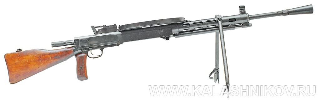 7,62-мм модернизированный ручной пулемёт Дегтярёва (ДПМ). Фото журнала «Калашников»