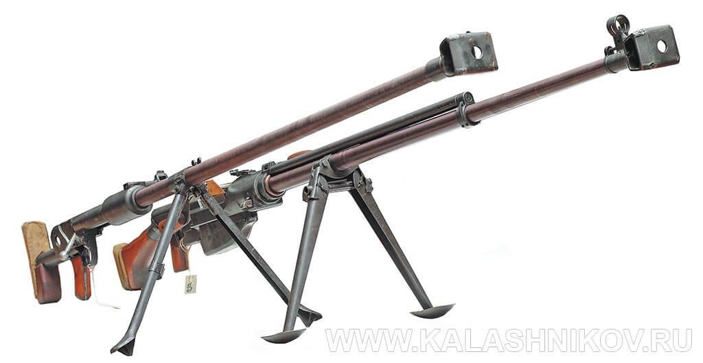 Противотанковые ружья ПТРД и ПТРС
