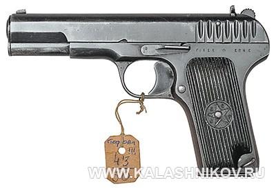 7,62-мм пистолет обр. 1933 г. (ТТ). Фото журнала «Калашников»