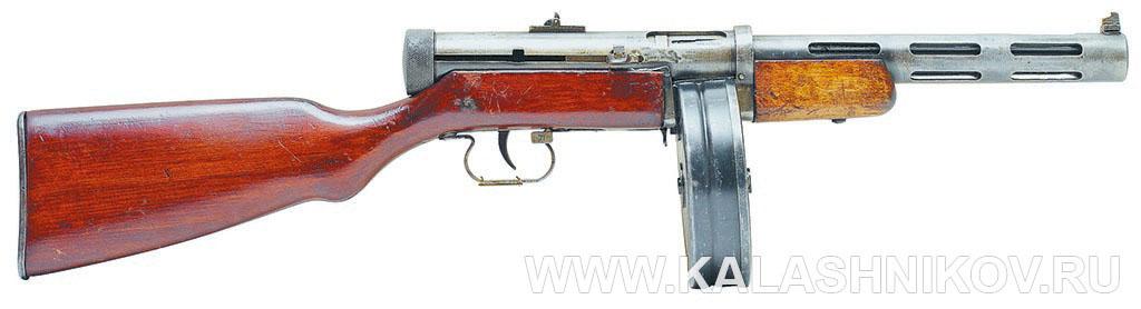 7,62-мм пистолет-пулемёт обр. 1940 г. (ППД-40). Фото журнала «Калашников»