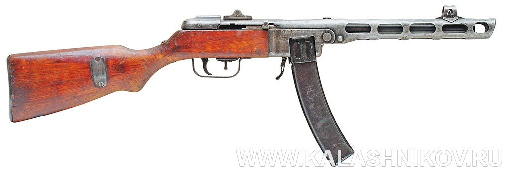 7,62-мм пистолет-пулемёт обр. 1941 г. (ППШ-41). Фото журнала «Калашников»