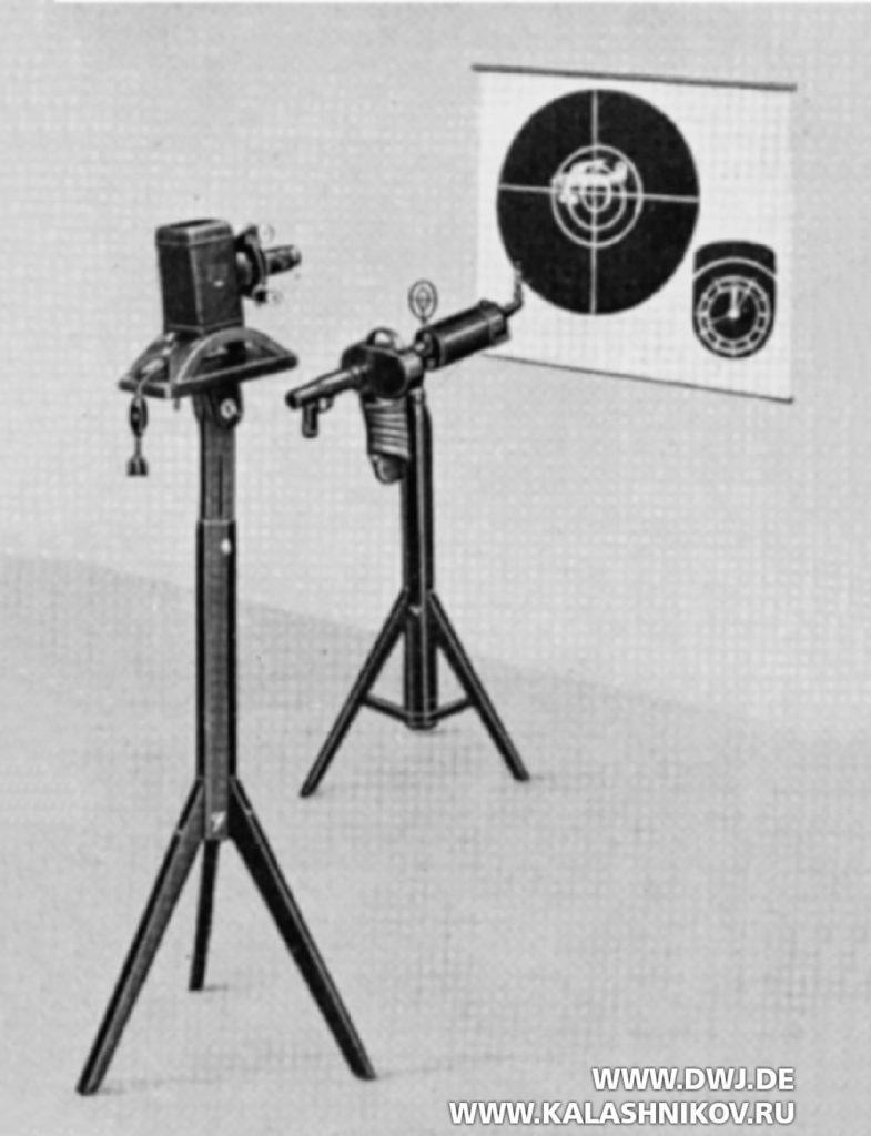Кинопулемёт Zeiss МВК 1000. Оборудования для оценки стрельб