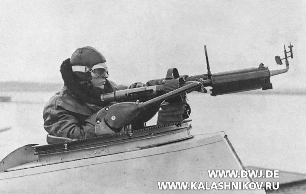 Стрелок с кинопулемётом пулемётом MG15