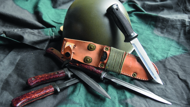 uton knife, боевой нож, журнал Калашников