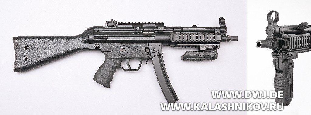 Пистолет-пулемёт MKE T94. Вид справа