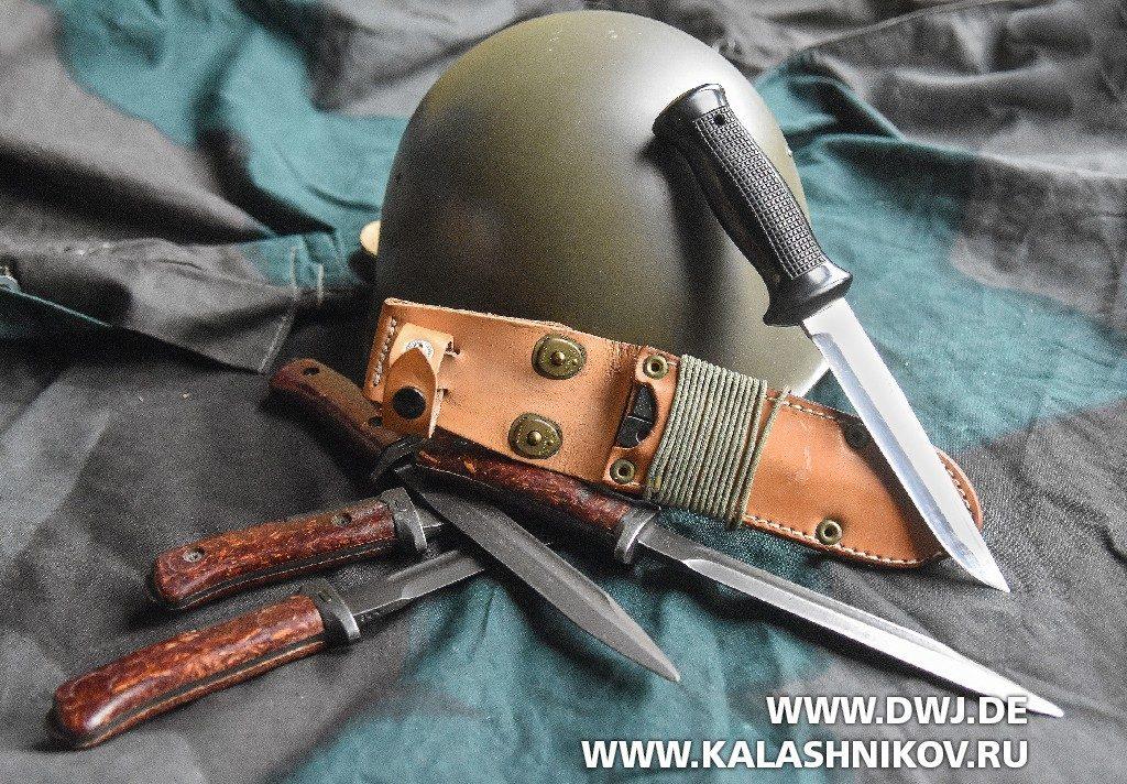 Чехословацкий боевой нож UTON
