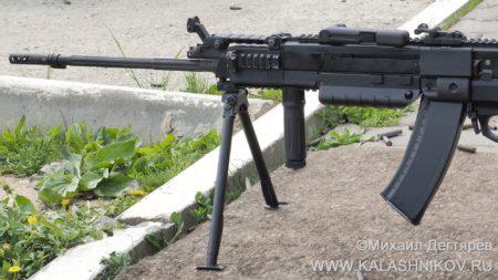 корд-5,45, пулемёт, комбинированное питание, журнал Калашников