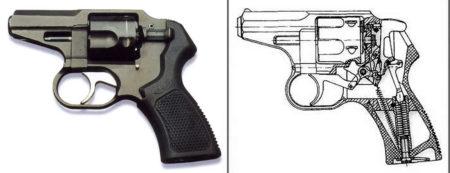 Схема револьвера Р-92С