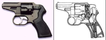 Устройство револьвера Р-92С