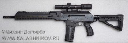 rifle SR1, карабин SR1, Сайга-107, сбалансированная автоматика, журнал Калашников