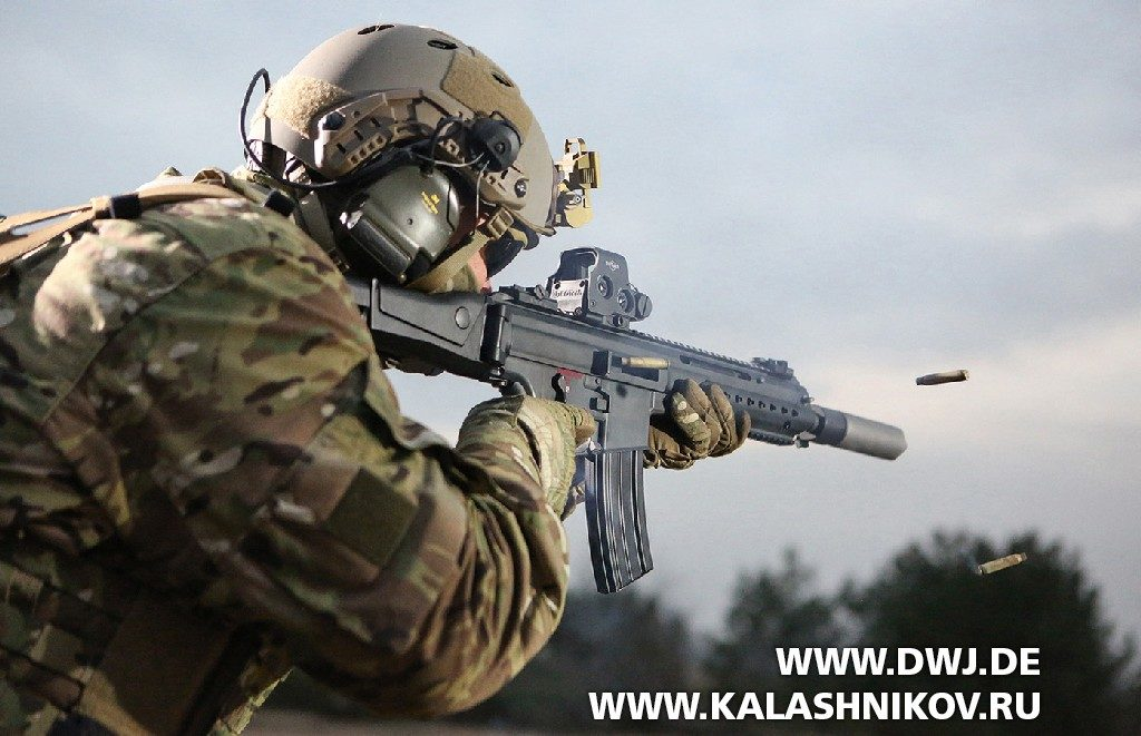 Штурмовая винтовка HK433