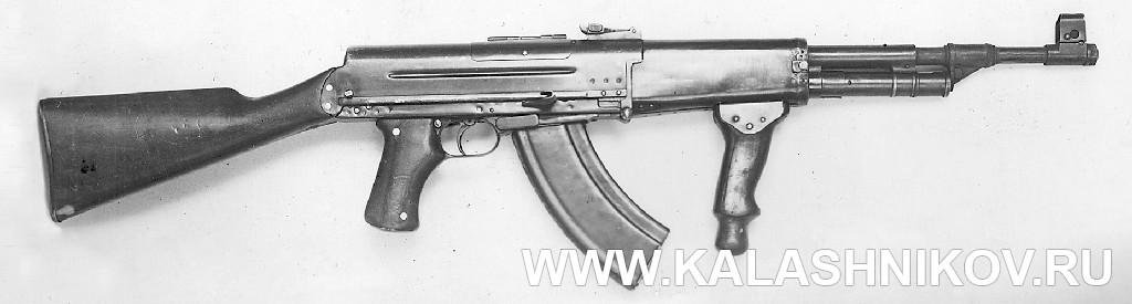 Автомат Рукавишникова, вариант 1. Журнал Калашников