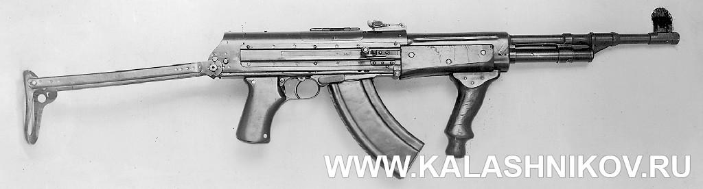 Автомат Рукавишникова, вариант 2. Журнал Калашников