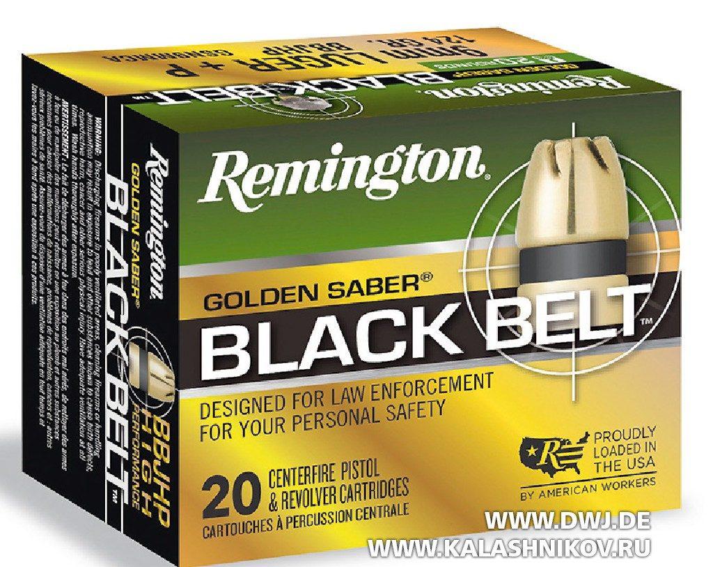Патрон Remington Golden Saber Black Belt калибра 9 mm Luger, Выставка SHOT Show 2018