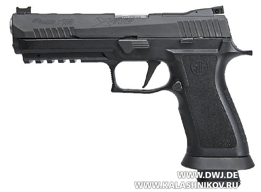 Пистолет SIG 320 X5. Выставка SHOT Show 2018