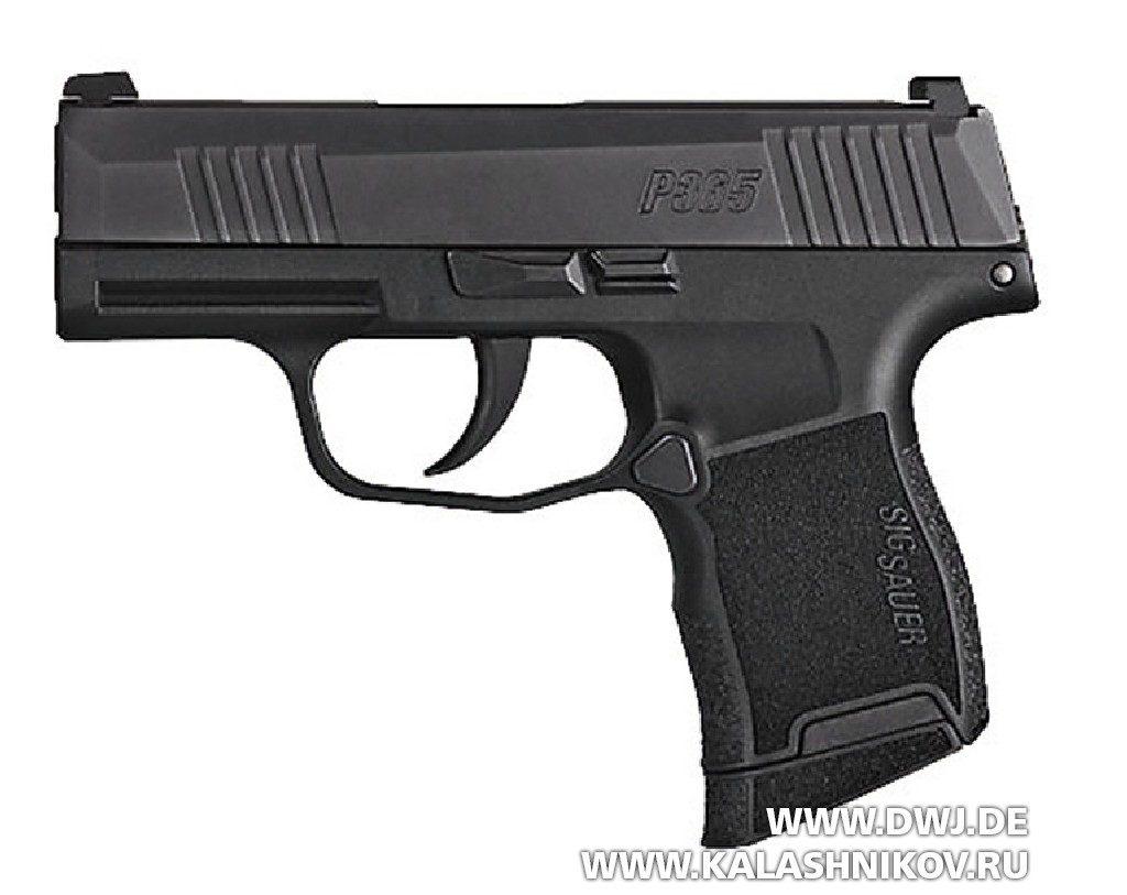 SIG P365 - субкомпактный пистолет. Выставка SHOT Show 2018