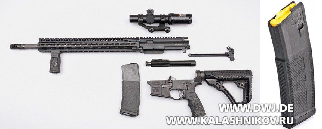 Винтовка Daniel Defence M4V11 PRO. неполная разборка и магазин