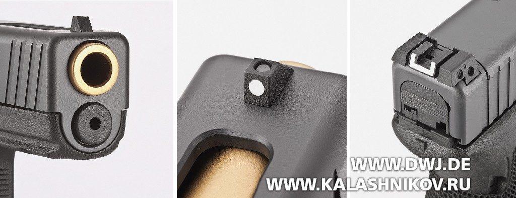 Пистолет The Duke Glock 17 Gen4 MOS прицельные приспособления