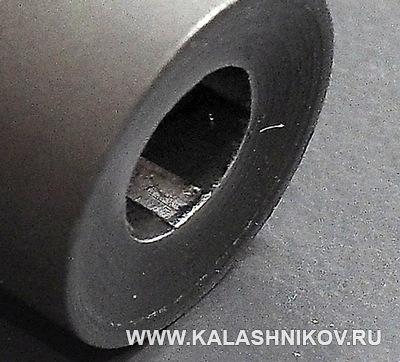 Поле нарезов ствола карабина Istanbul Monza. Журнал Калашников
