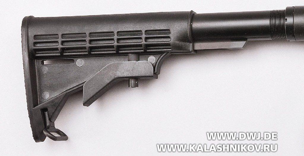 CSA  vz.58 Compact. Приклад