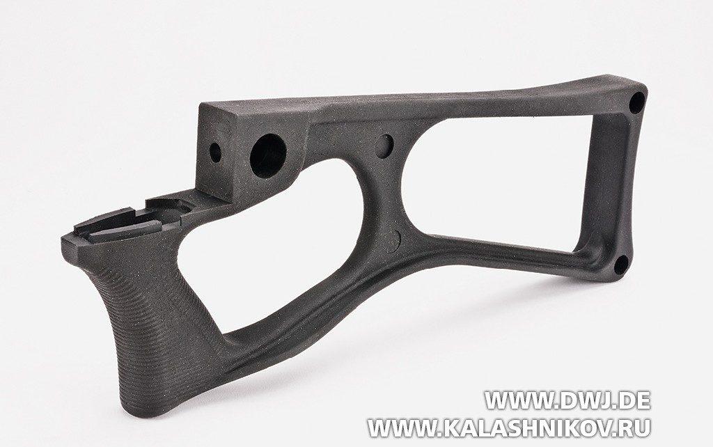 CSA  vz.58 Compact. Приклад с пистолетной рукояткой