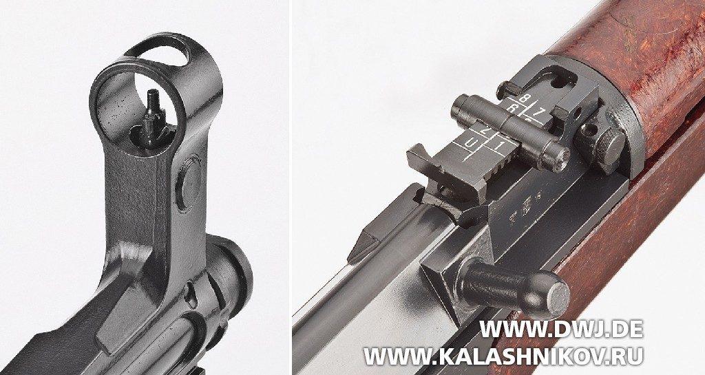 CSA  vz.58 Compact. Прицельные приспособления