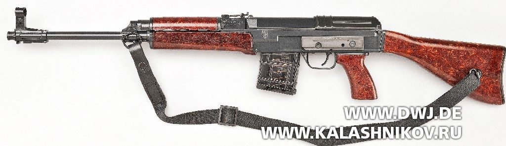 Гражданская версия автомата CSA  vz.58 калибра .223 Remington
