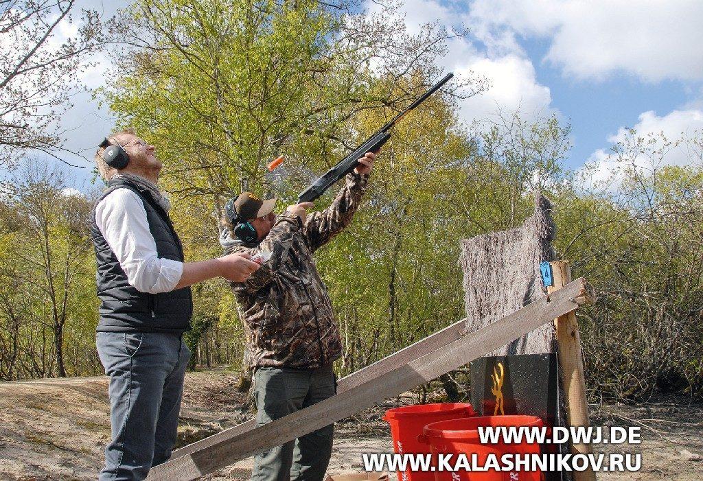 Стрельба из ружья Winchester SX4. Фото 2