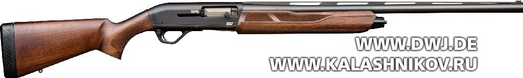самозарядное ружьё Winchester SX4 с ложей из дерева