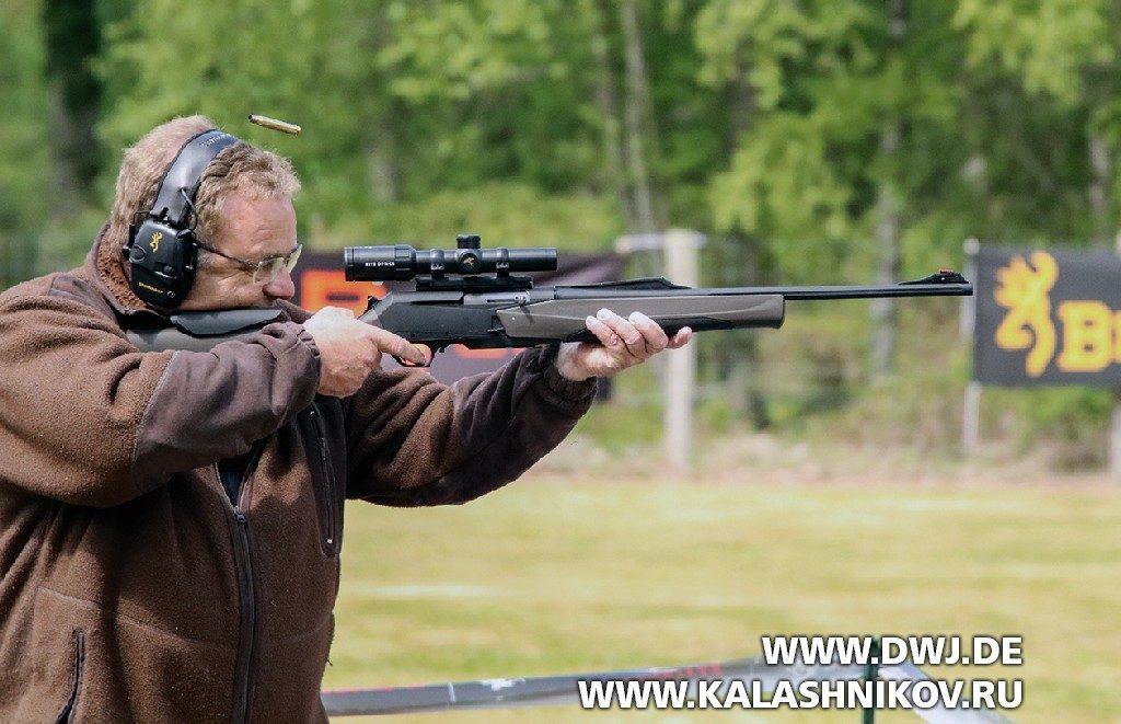 Стрельба из карабина BAR MK3 Tracker