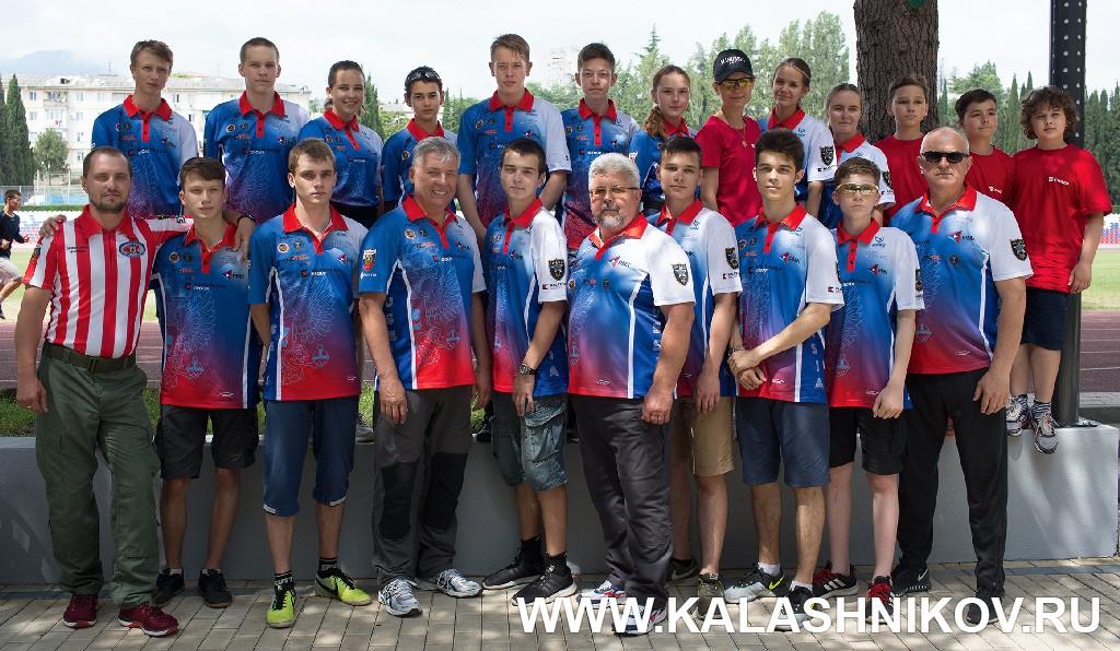Юниорская сборная команда ФПСР. Журнал Калашников