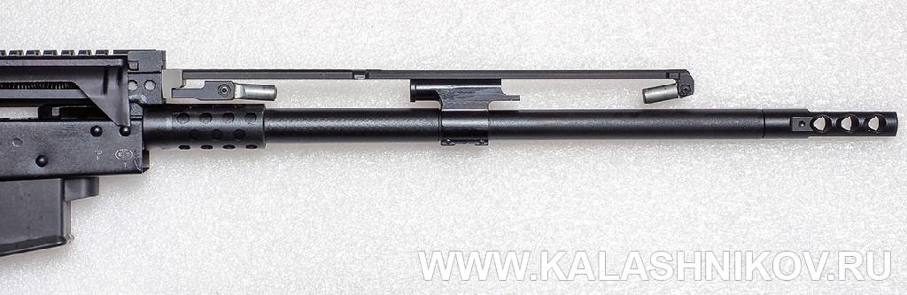 Газовый поршень 2 карабина «Сайга-107»/SR1. Журнал Калашников