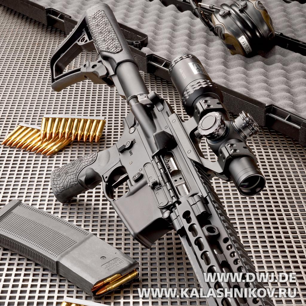 Daniel Defence M4V11 PRO, dwj, журнал Калашников