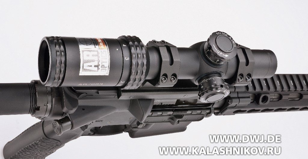 Винтовка Daniel Defence M4V11 PRO. с оптическим прицелом Bushnell