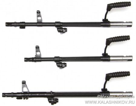 ствол пулемёта 6П41М, ствол пулемёта 6П69, журнал Калашников