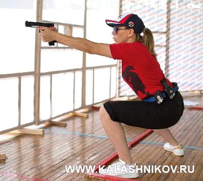 На сборах юниорской сборной команды ФПСР. Журнал Калашников