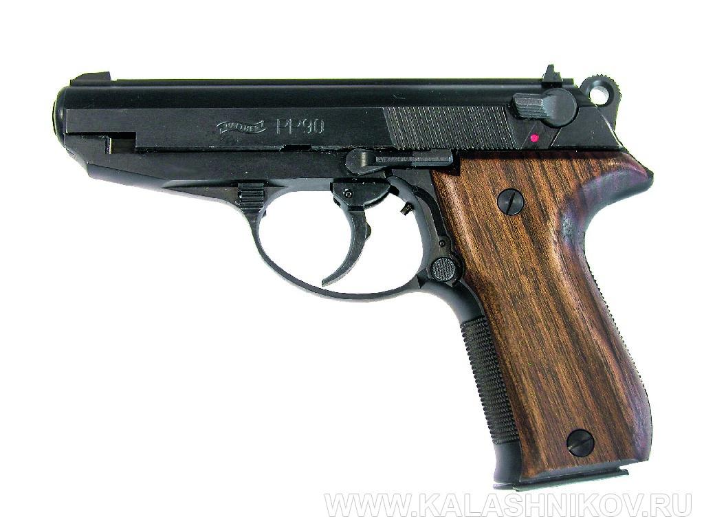 Пистолет Walther PP90. Журнал Калашников