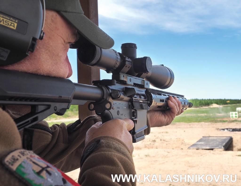 Стрельба из карабина ADAR 2-15. Журнал Калашников
