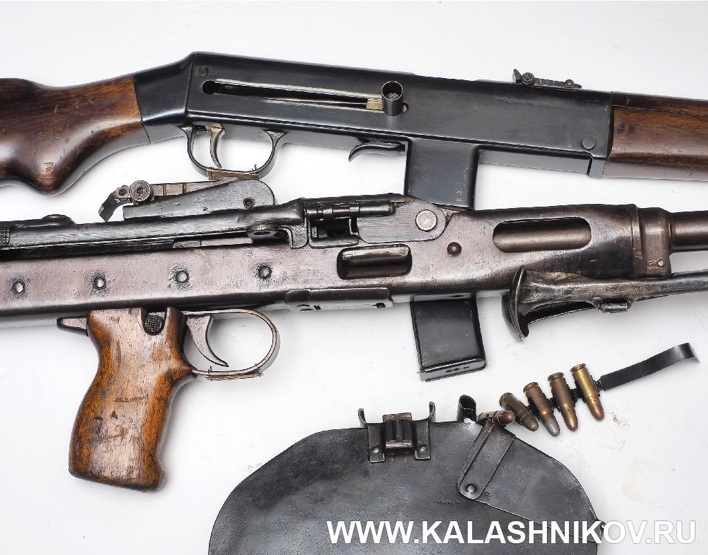 Карабин Дегтярева 1942 г и пулемет ЛАД. Журнал Калашников