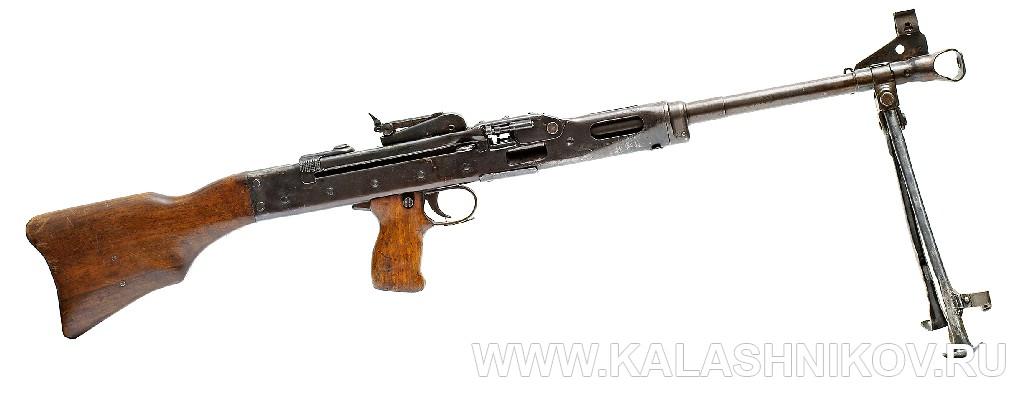 Пулемёт ЛАД. 1943 г. Журнал Калашников