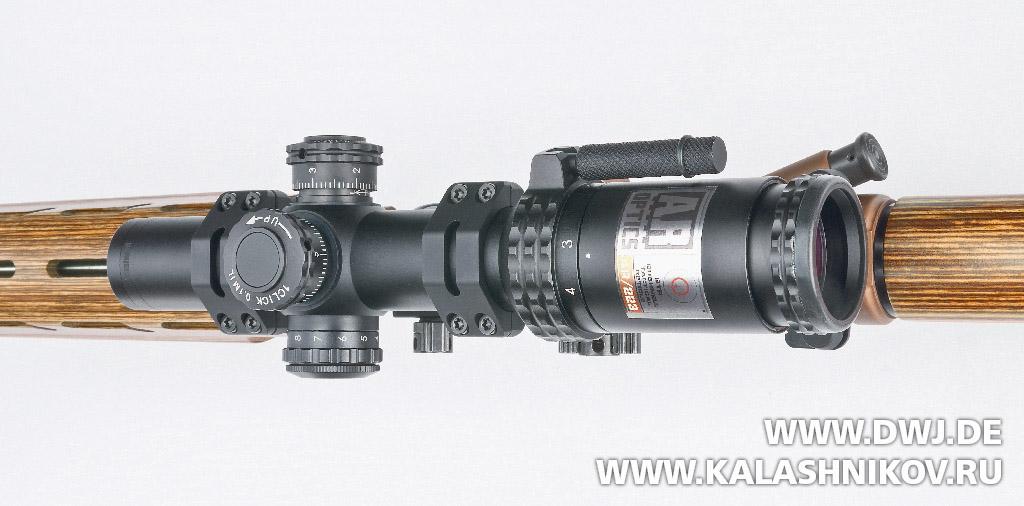 Оптический прицел Bushnell AR/223 1-2x24. Журнал Калашников