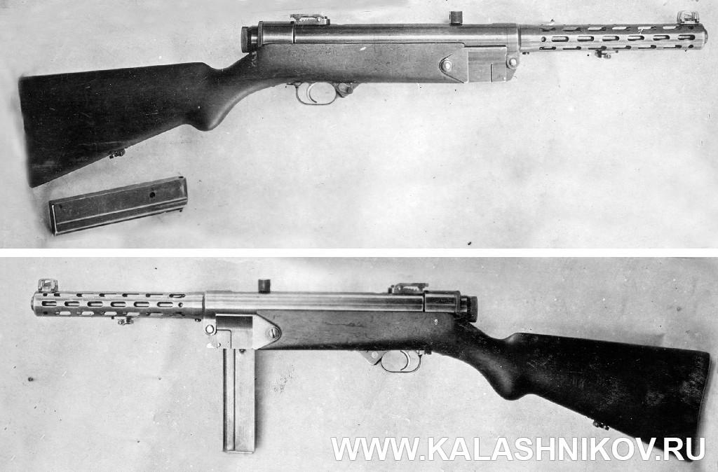 Пистолет-пулемёт Коровина 1-й образец . Журнал Калашников