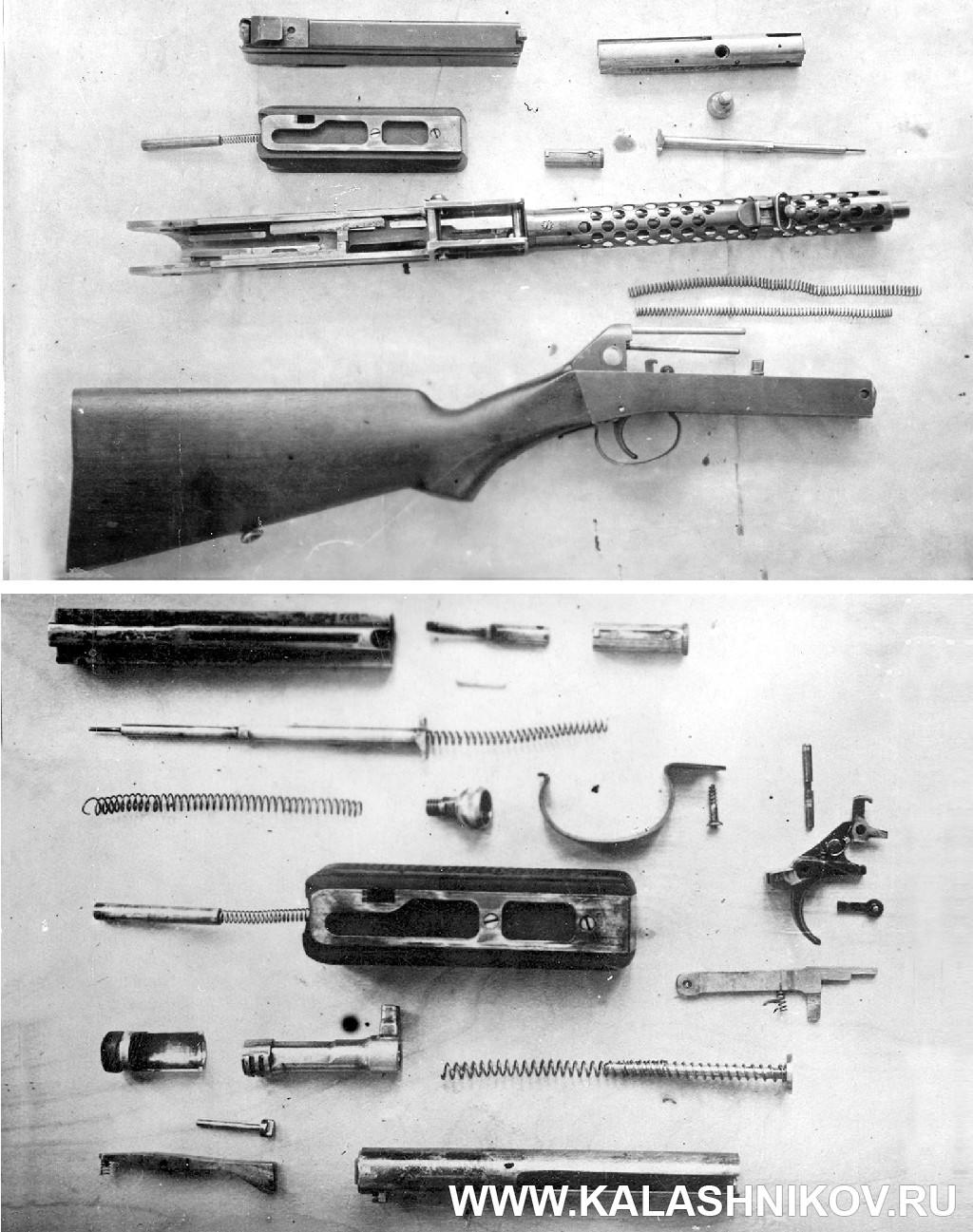 Пистолет-пулемёт Прилуцкого, полная разборка. Журнал Калашников