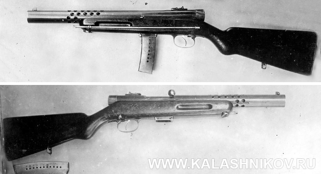 Пистолет-пулемёт Токарева № 1. Журнал Калашников